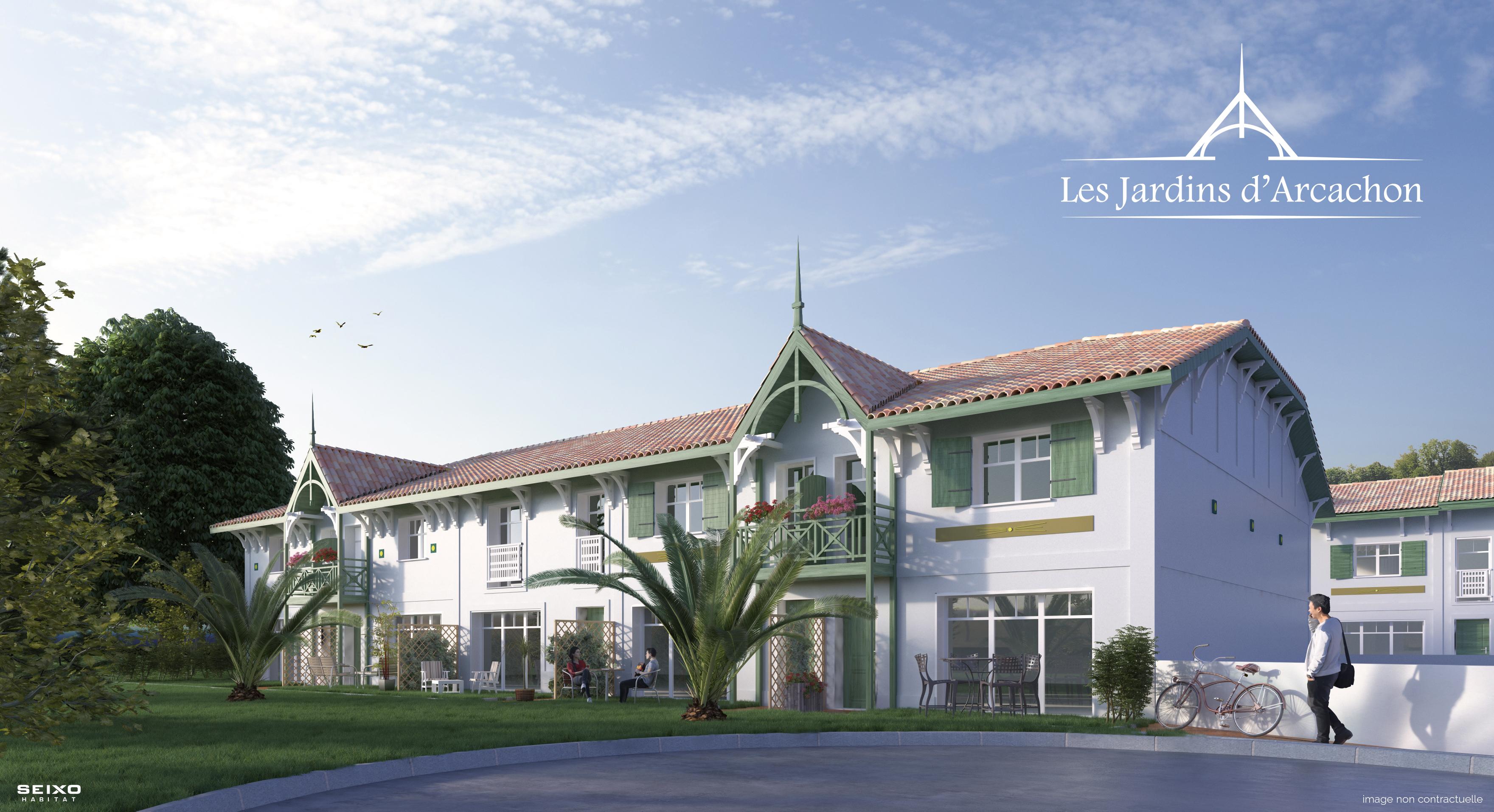 Programme immobilier neuf LES JARDINS D'ARCACHON