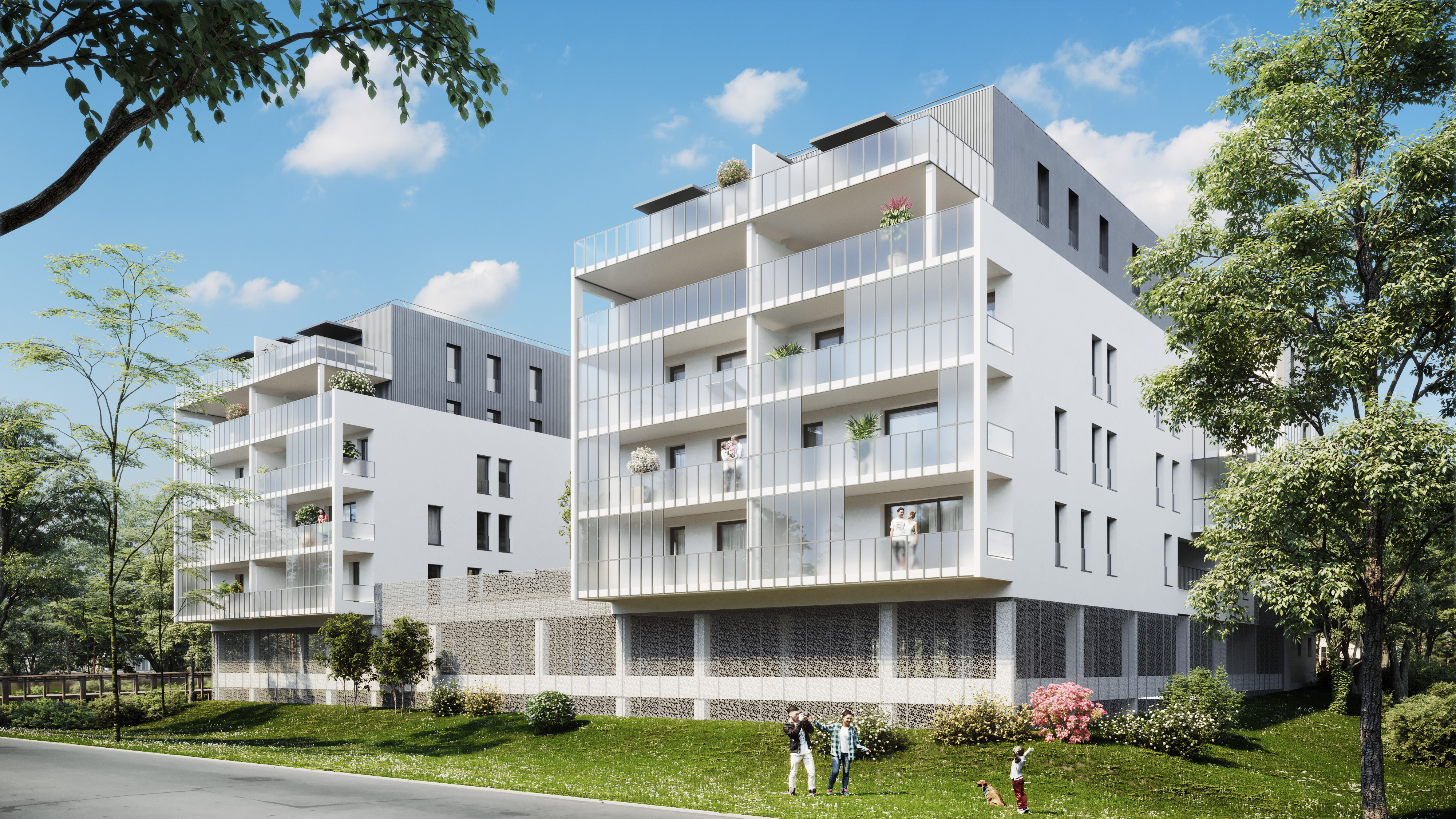Programme immobilier neuf RES LYS'A